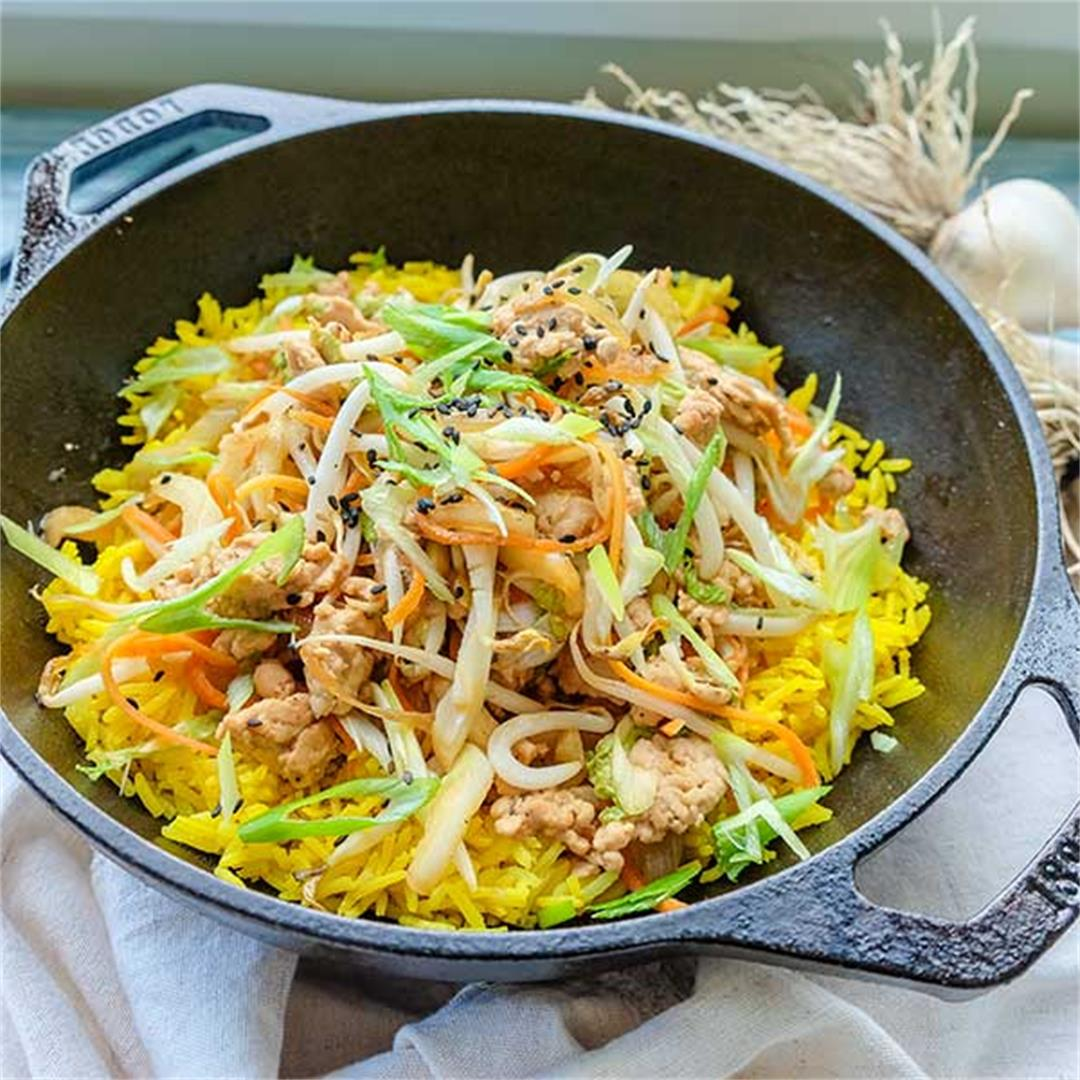 Chinese Chicken Egg Roll In a Bowl - Gluten-Free