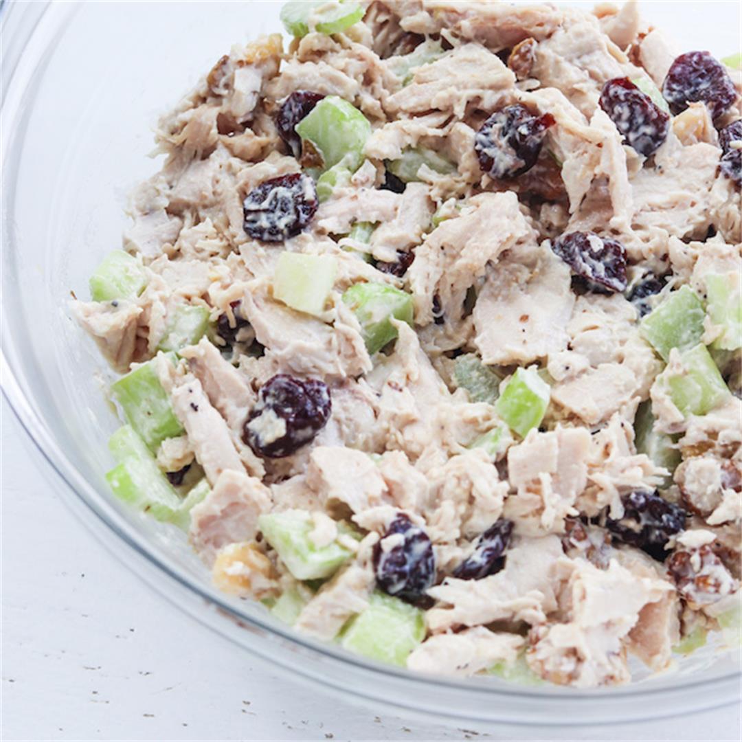 5-Ingredient Healthy Chicken Salad