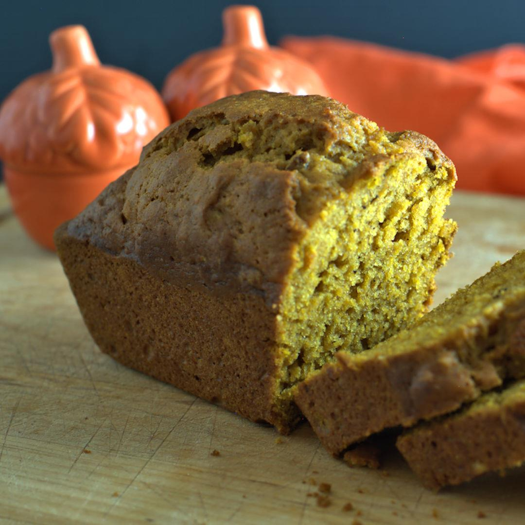Pumpkin Bread for Two