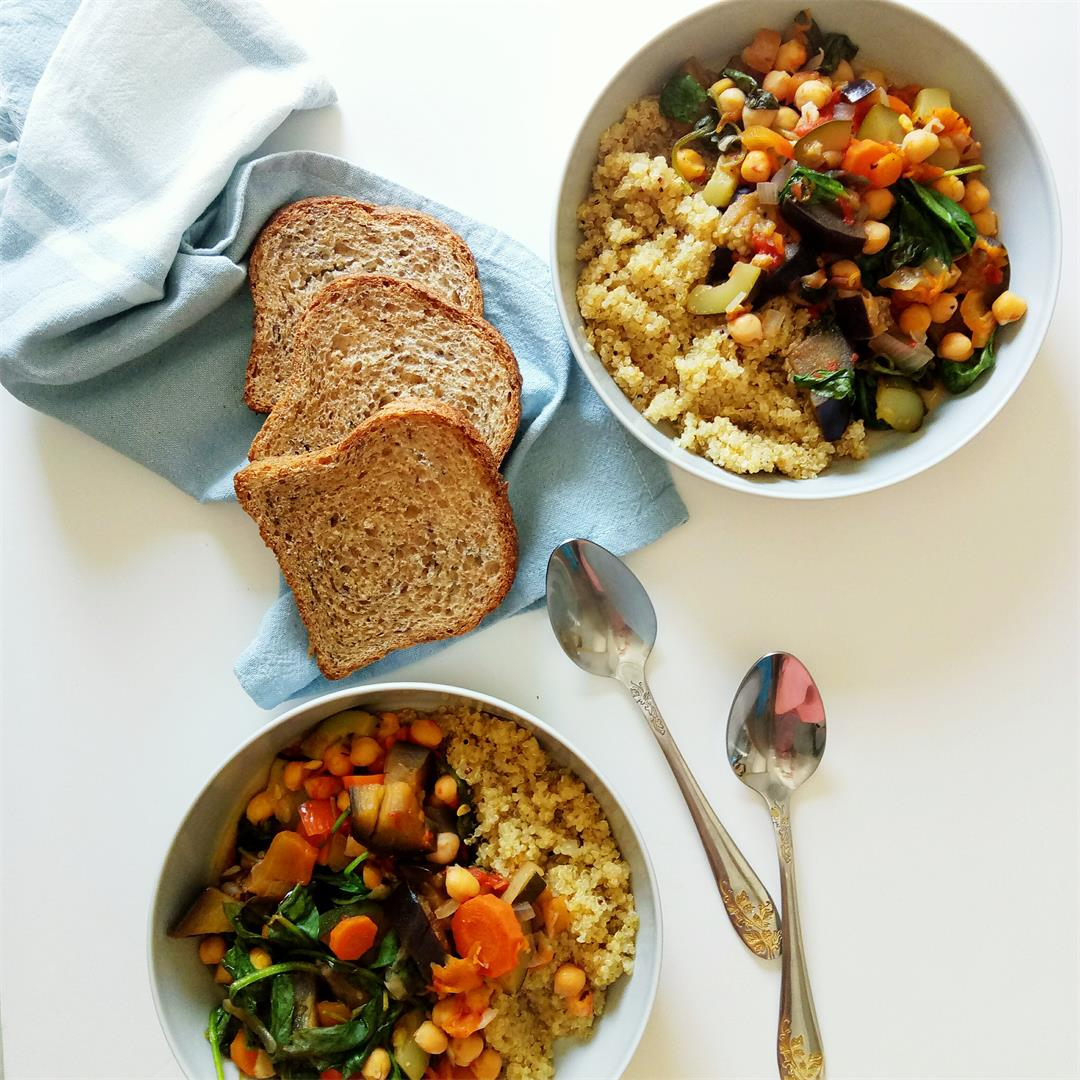 Harvest Veggie Stew with Quinoa