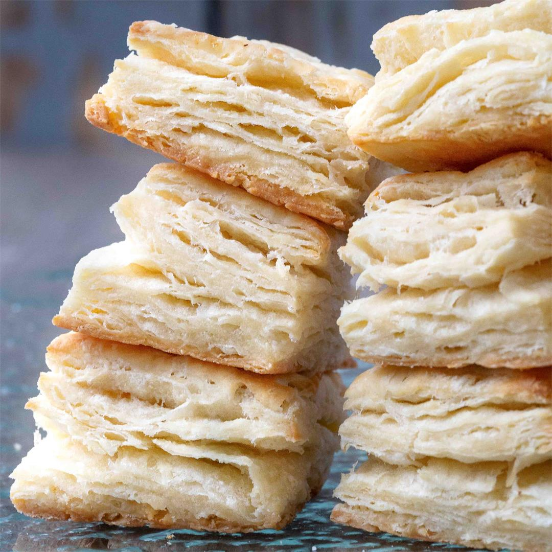 Super Flaky Southern Biscuits