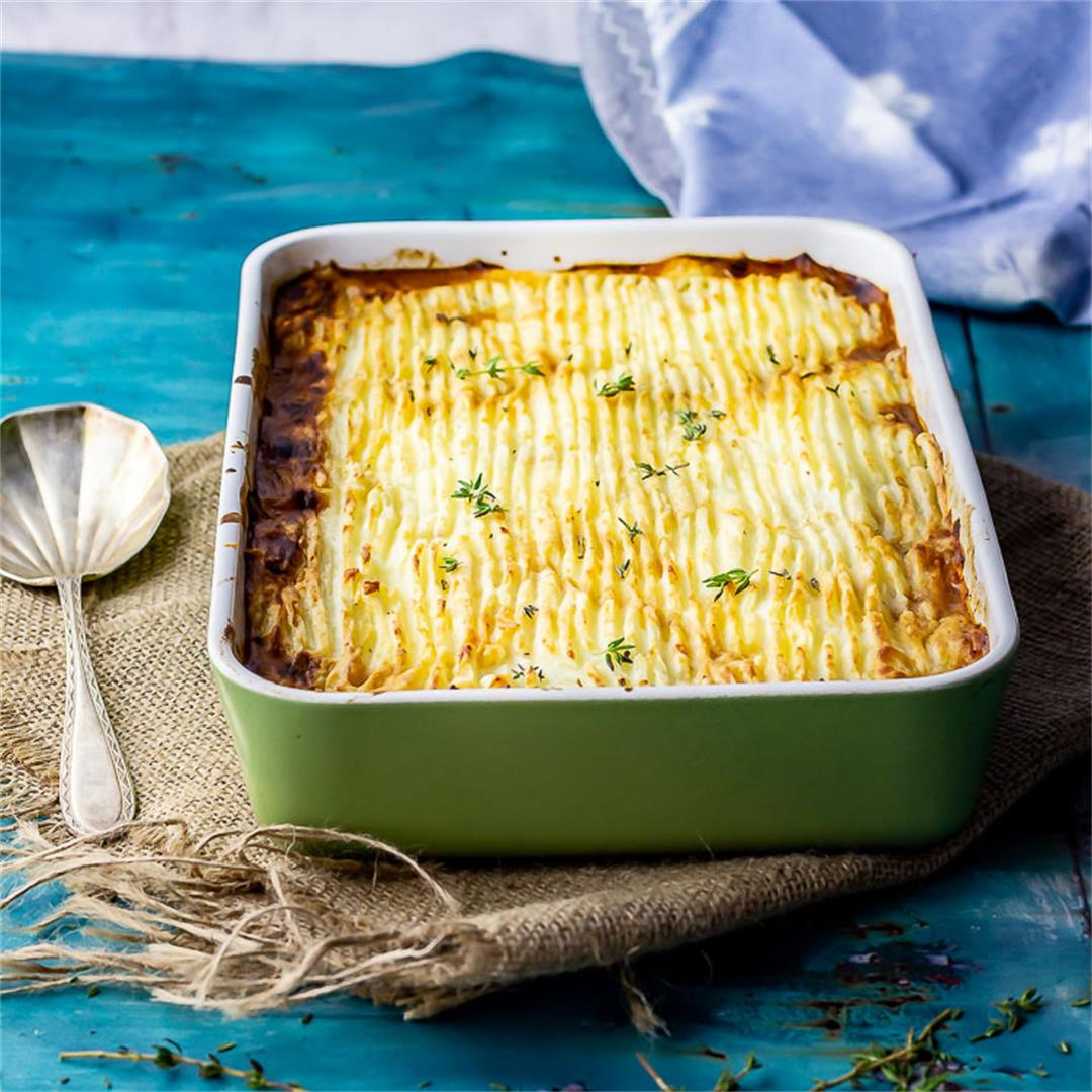 Vegetarian Shepherd's Pie with Mushrooms