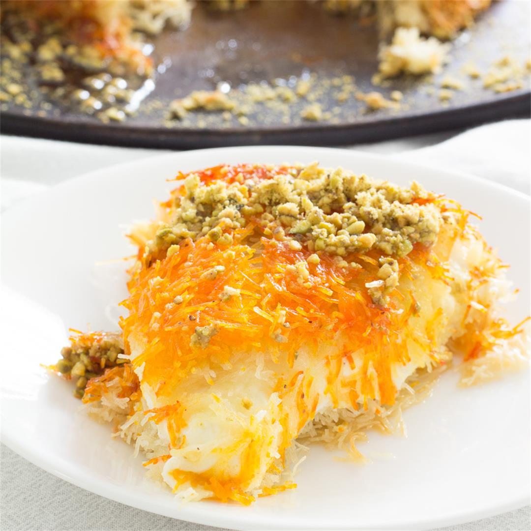 Knafeh - Classic Palestinian Dessert