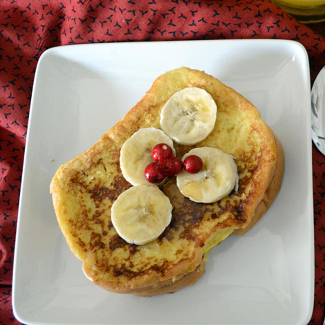 Best Ever French Toast, super quick healthy breakfast