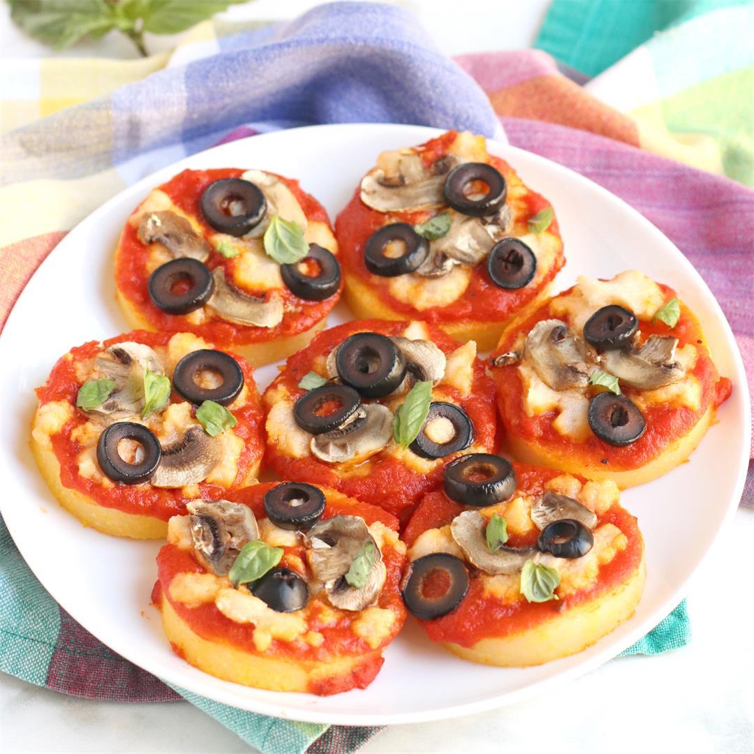 Mini Polenta Pizza