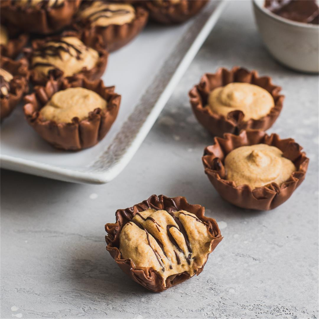 Chocolate Pumpkin Mini Bites