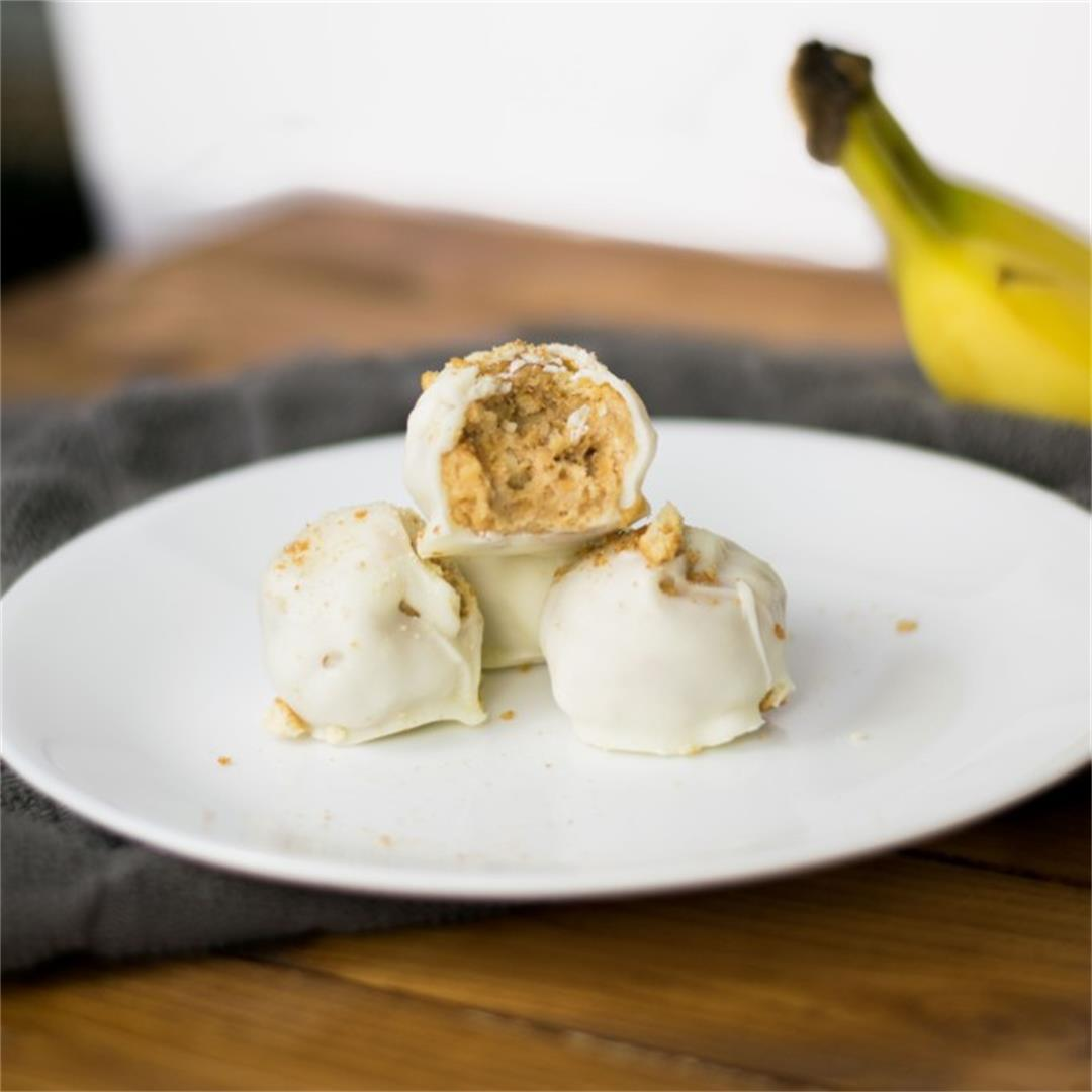 Banana Pudding Truffles