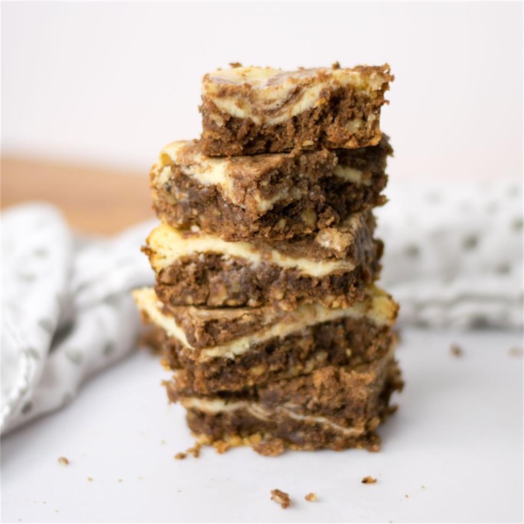 Walnut Cream Cheese Brownies