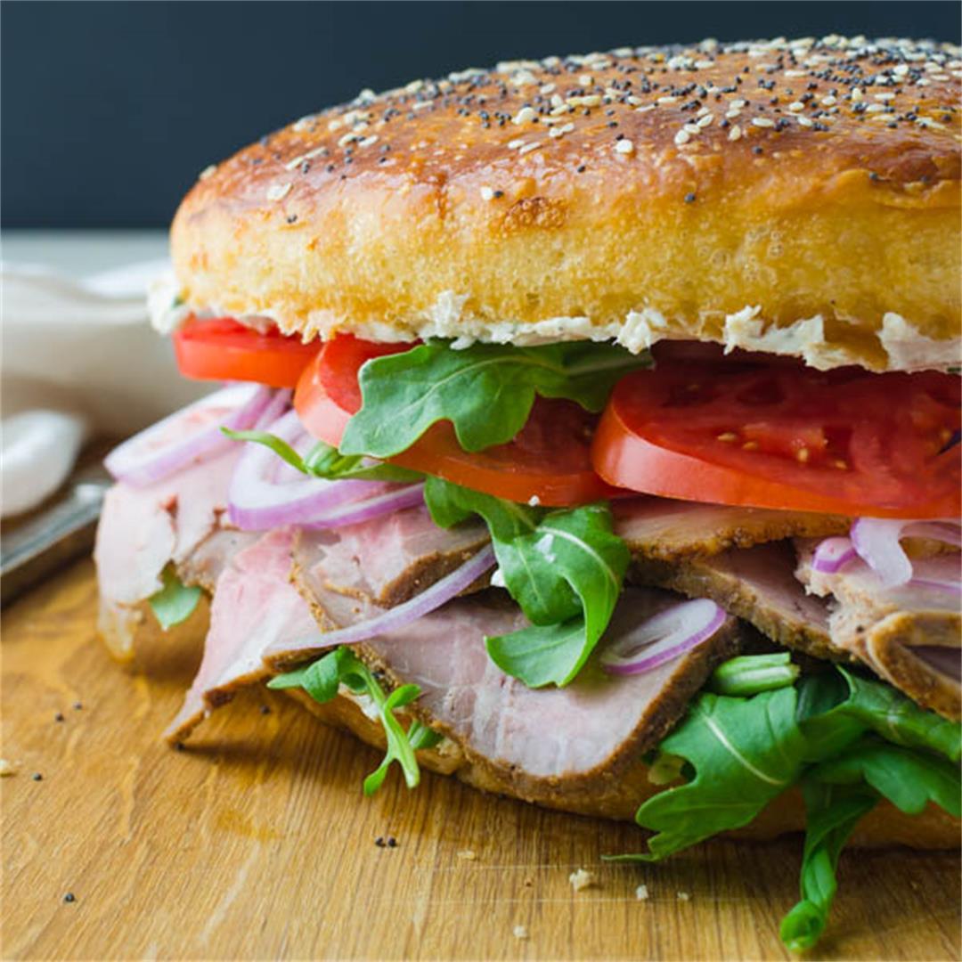 Ultimate Tailgating Roast Beef Sandwich