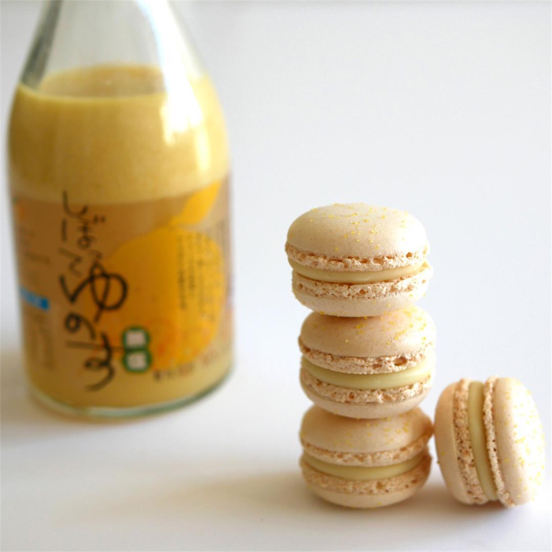 Yuzu Macaron