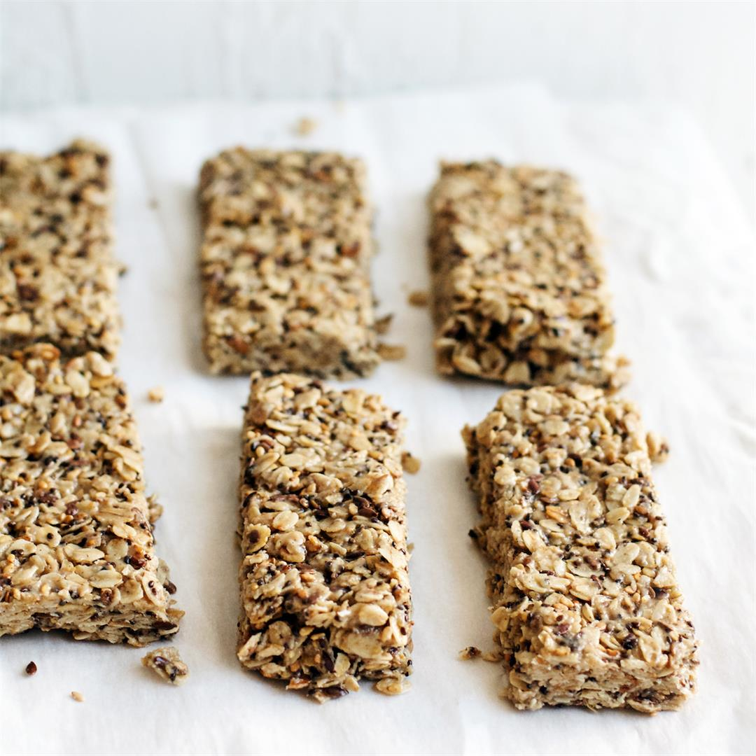 Tahini & Honey Super Seed Granola Bars