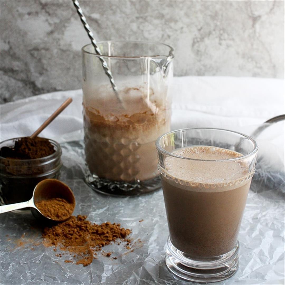 Reishi Mushroom Chocolate Milk (Vegan, GF)