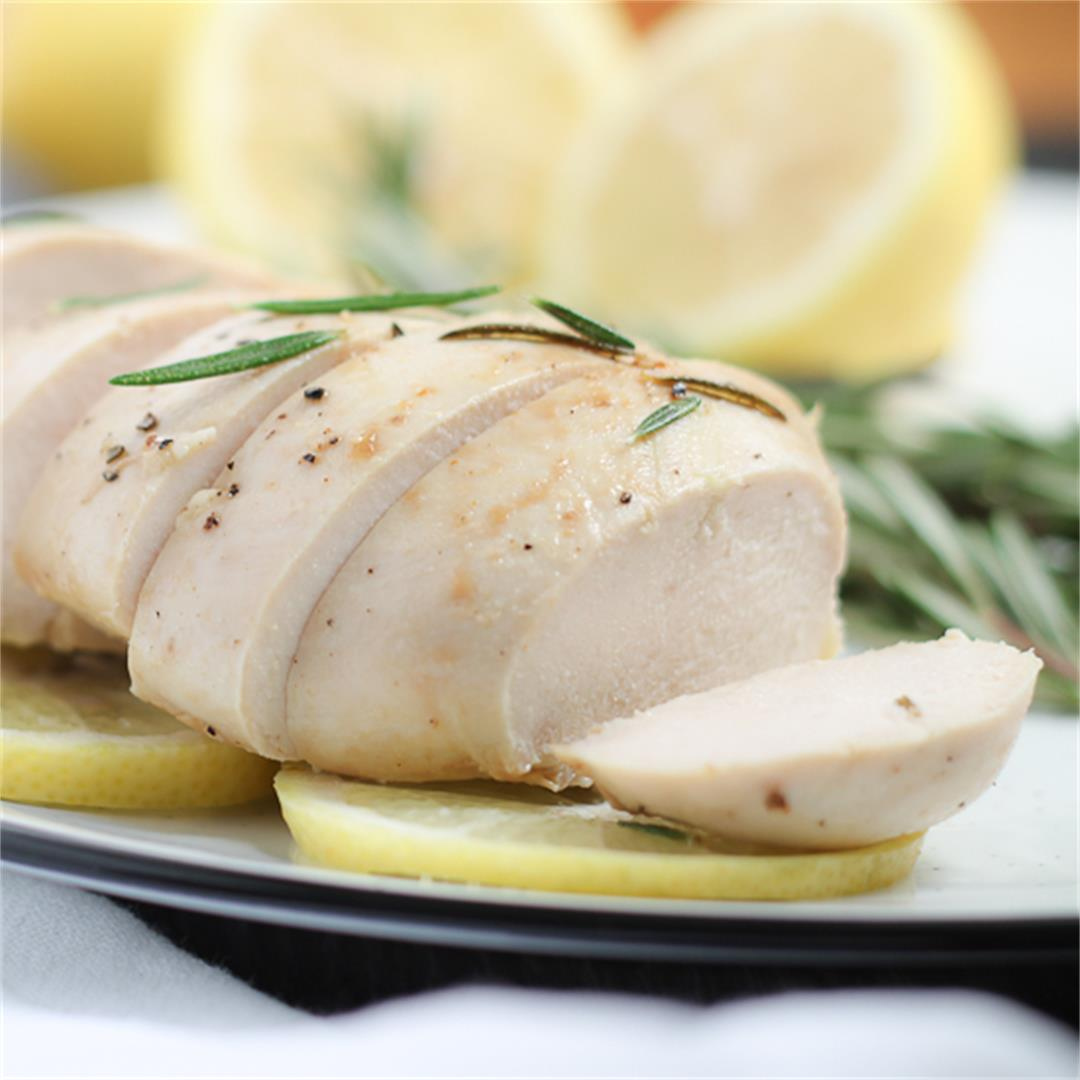 Lemon Rosemary Chicken - Gluten Free