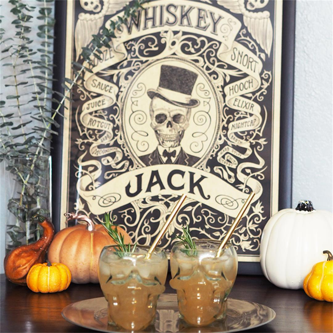 The Whiskey Jack - A Halloween Cocktail