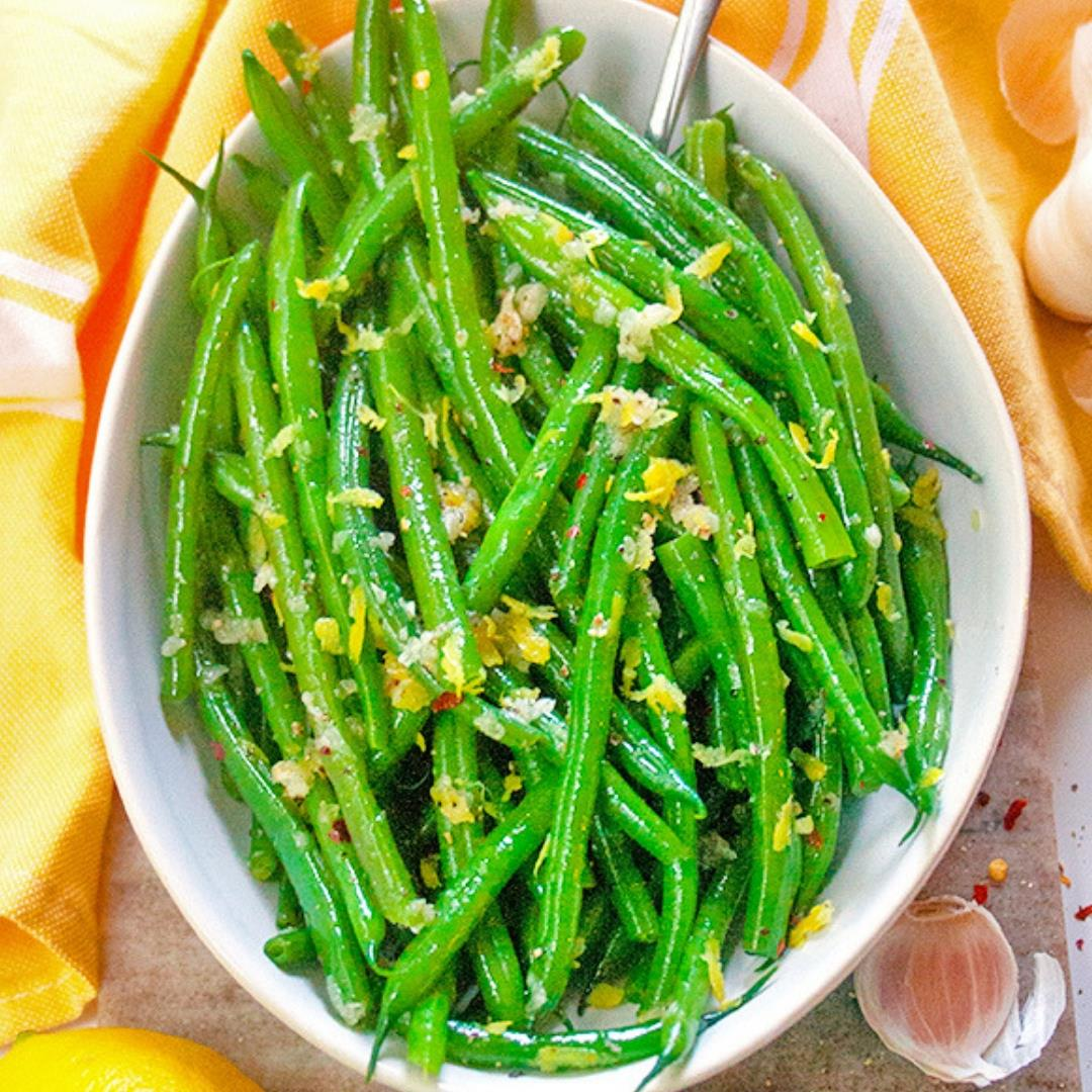 Quick and Easy Garlic Green Beans