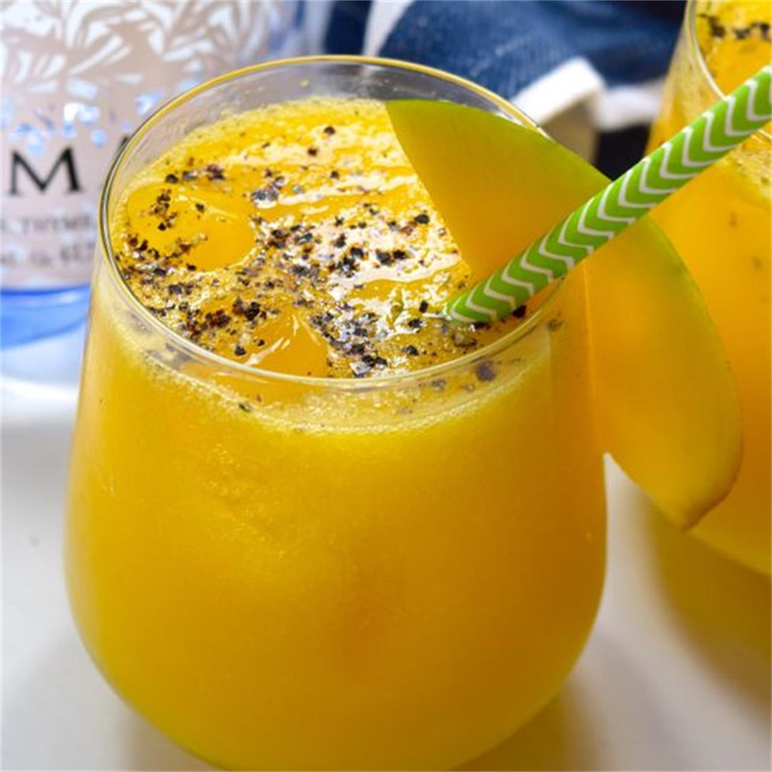 Mango, Black Pepper & Gin Spritz