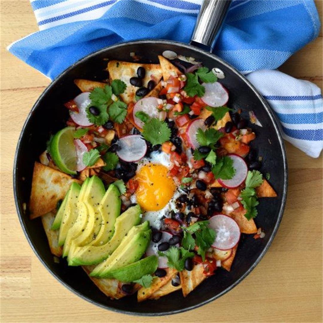 Hangover Cure Chilaquiles