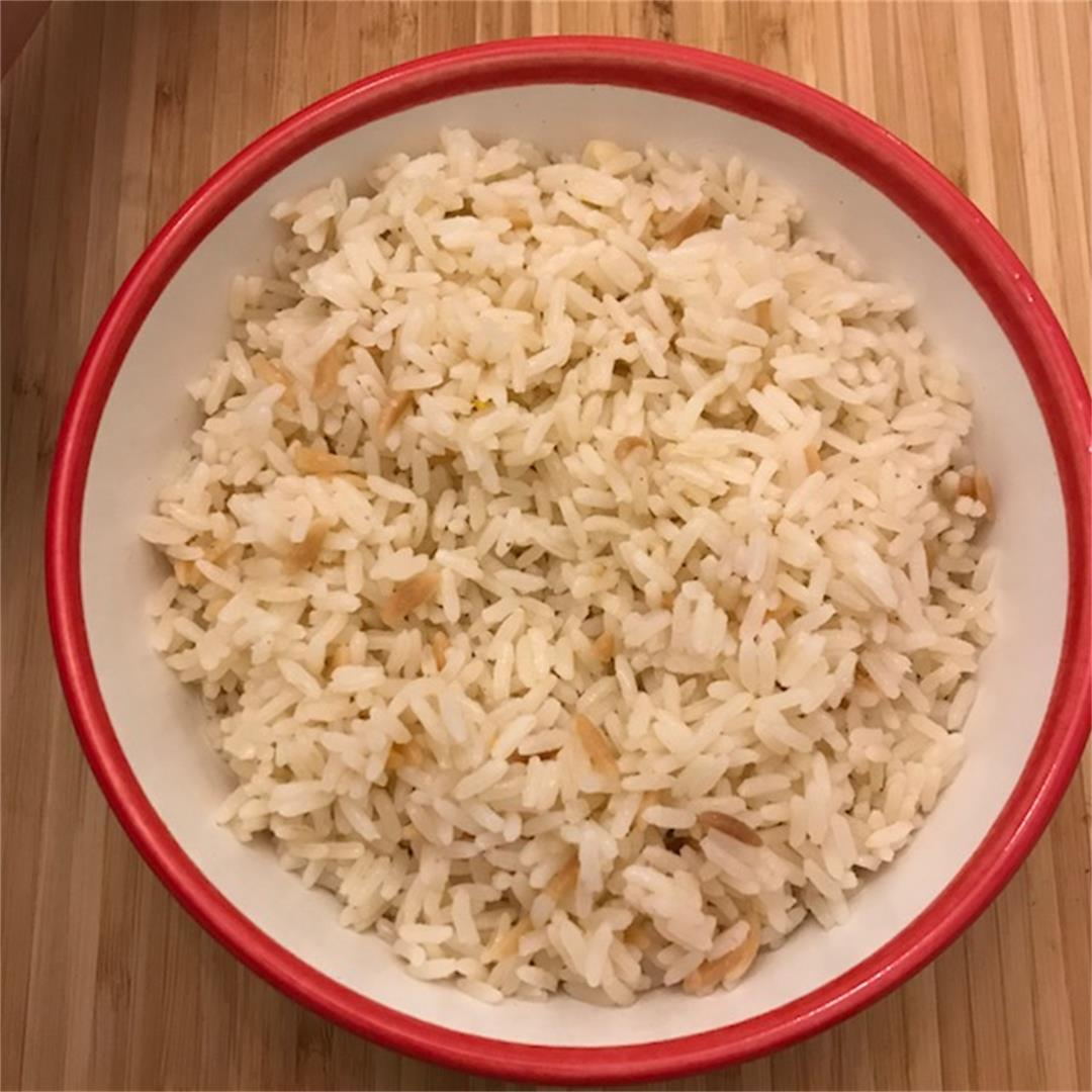 Turkish rice is fluffy, buttery, rich and very tasty.