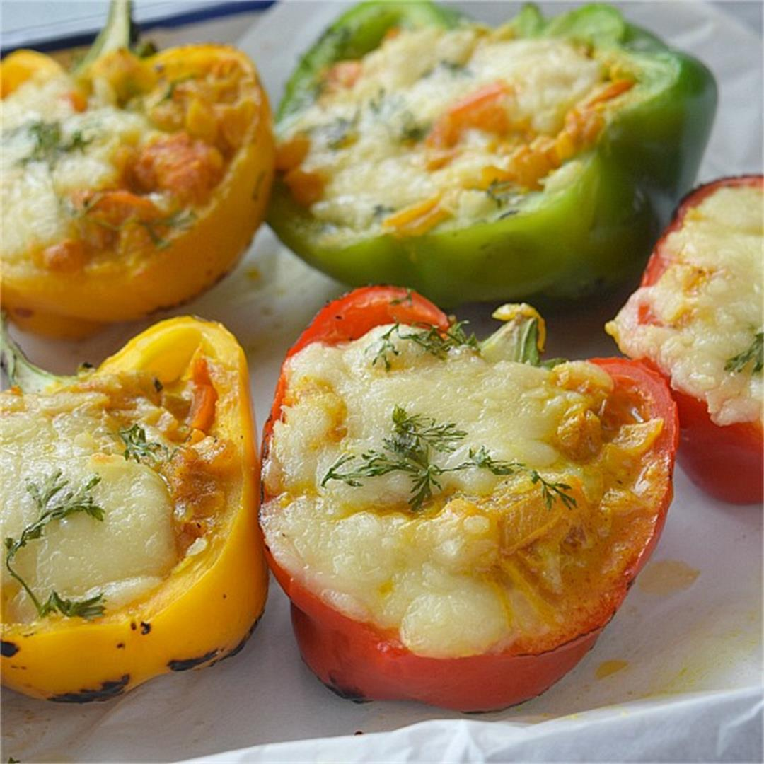 Stuffed Peppers (Shrimp Stuffed Peppers)