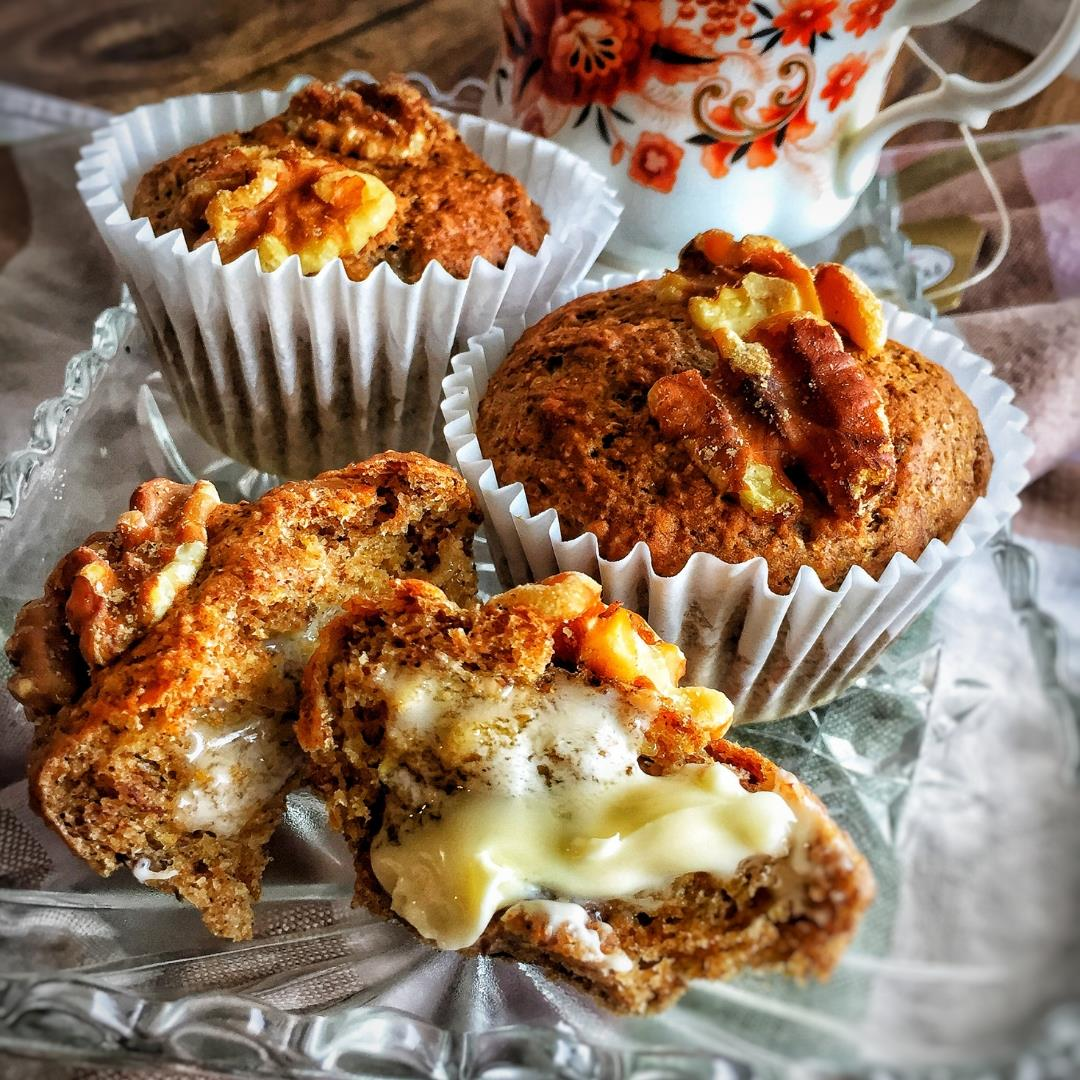 Vegan Banana Nut Muffins-Healthy and Delicious!
