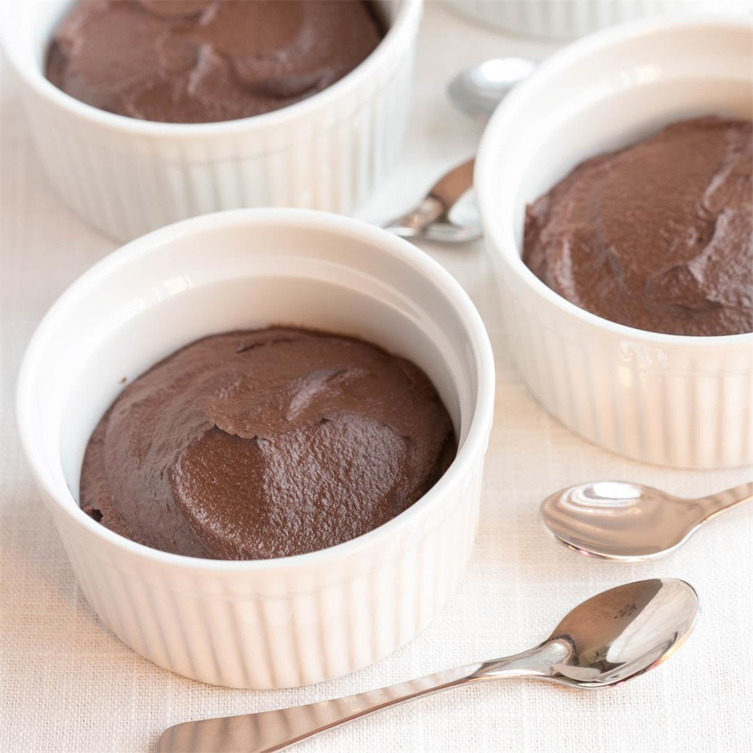 Low Carb Cauliflower Chocolate Pudding