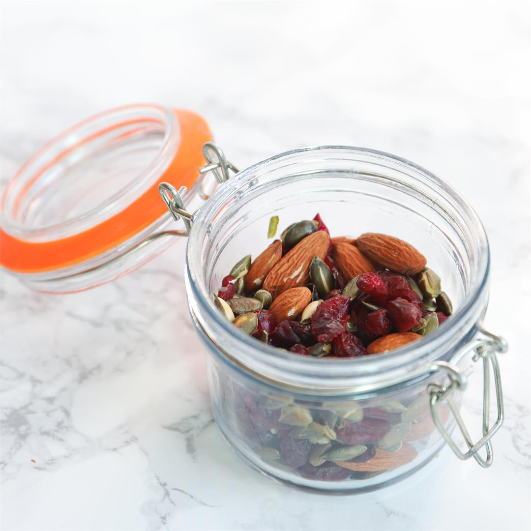 Healthy Trail Mix.