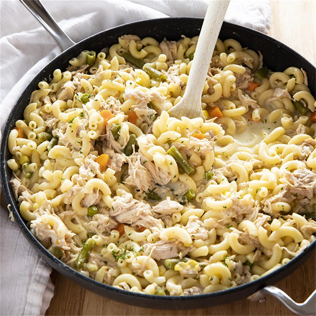 One Pan Turkey Casserole