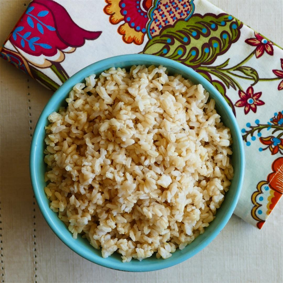 Perfect Instant Pot Brown Rice Pot-in-pot (Pip) Method