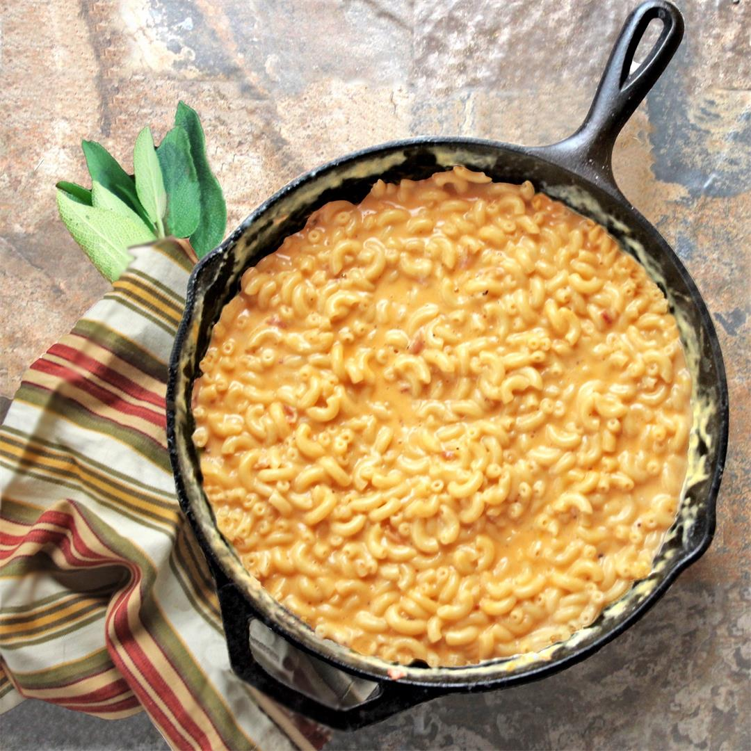 Creamy One-Pot Stovetop Macaroni and Cheese