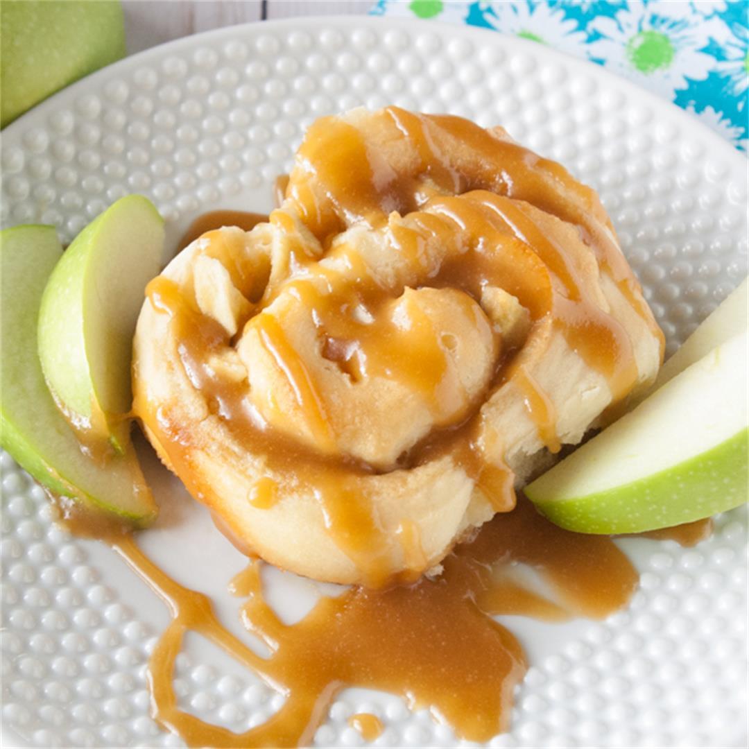 Caramel Apple Sweet Rolls