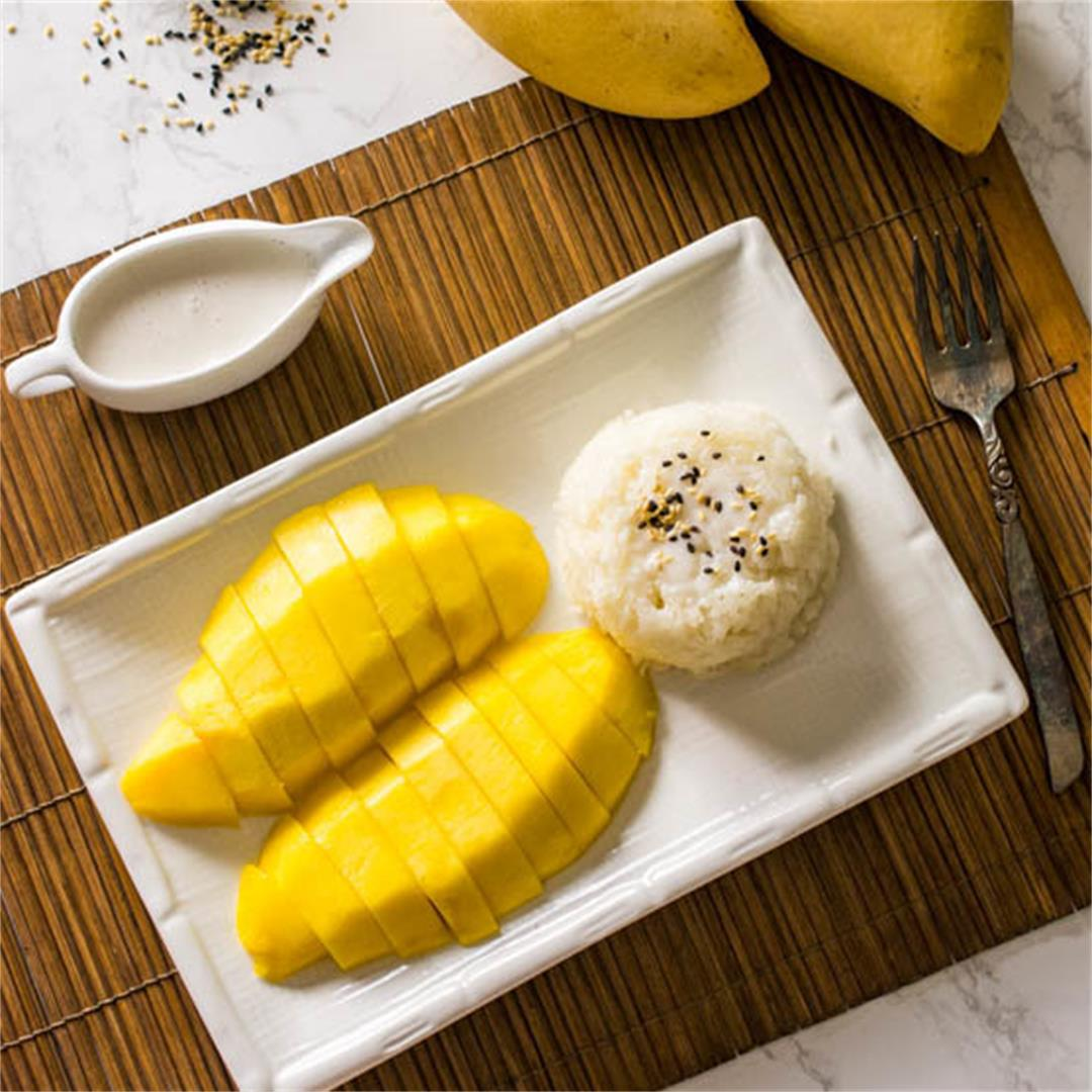 Thai Mango with Sticky Rice