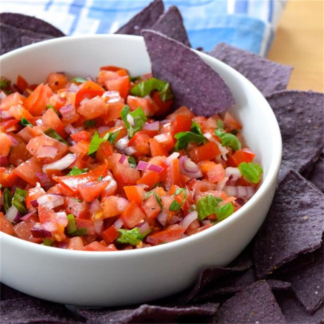 Easy Bruschetta Salsa