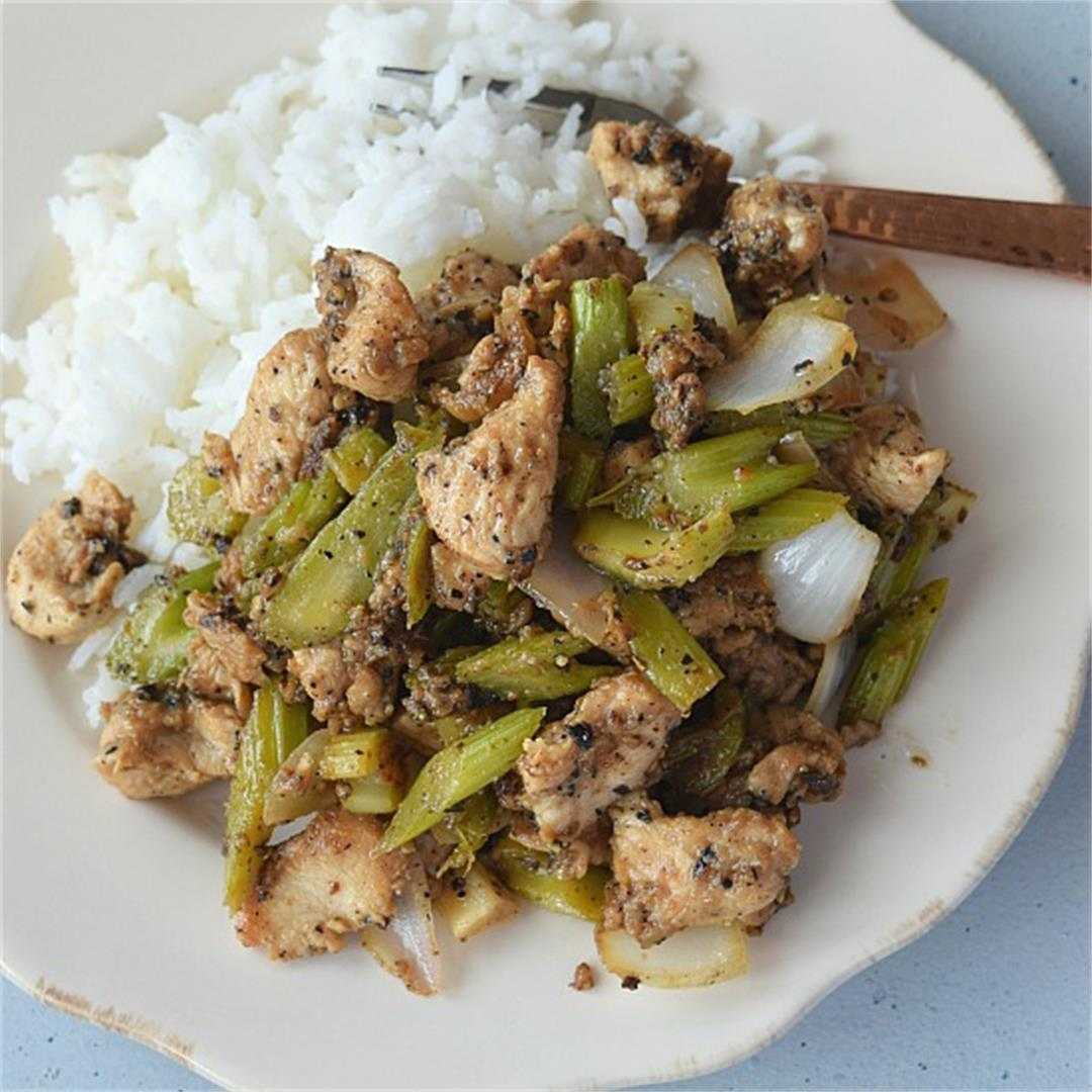 Black Pepper Chicken (Panda Express Copycat)