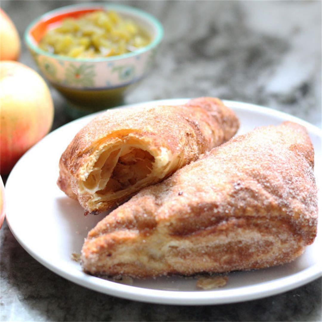 Apple and Green Chile Turnovers