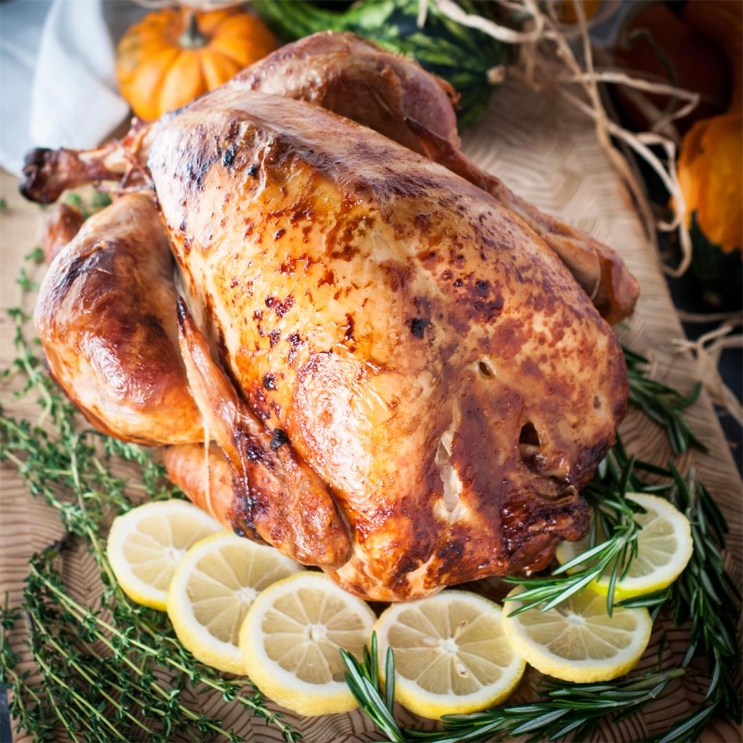 Rotisserie Thanksgiving Turkey… or any Occasion!