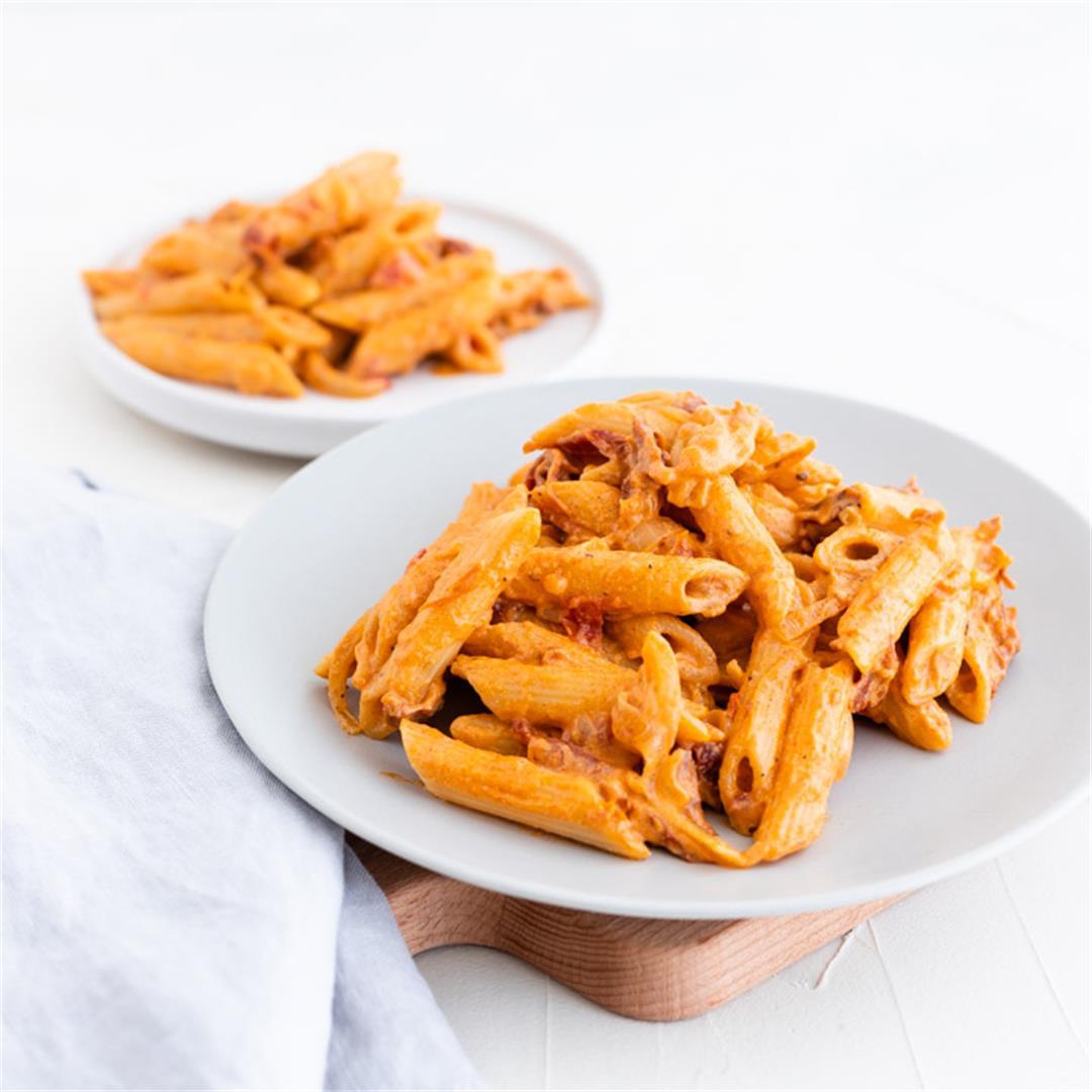 Cashew Tomato Pasta