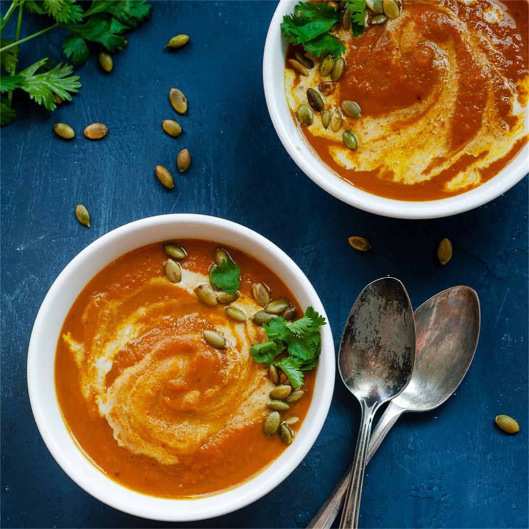 Lemongrass Butternut Squash Soup