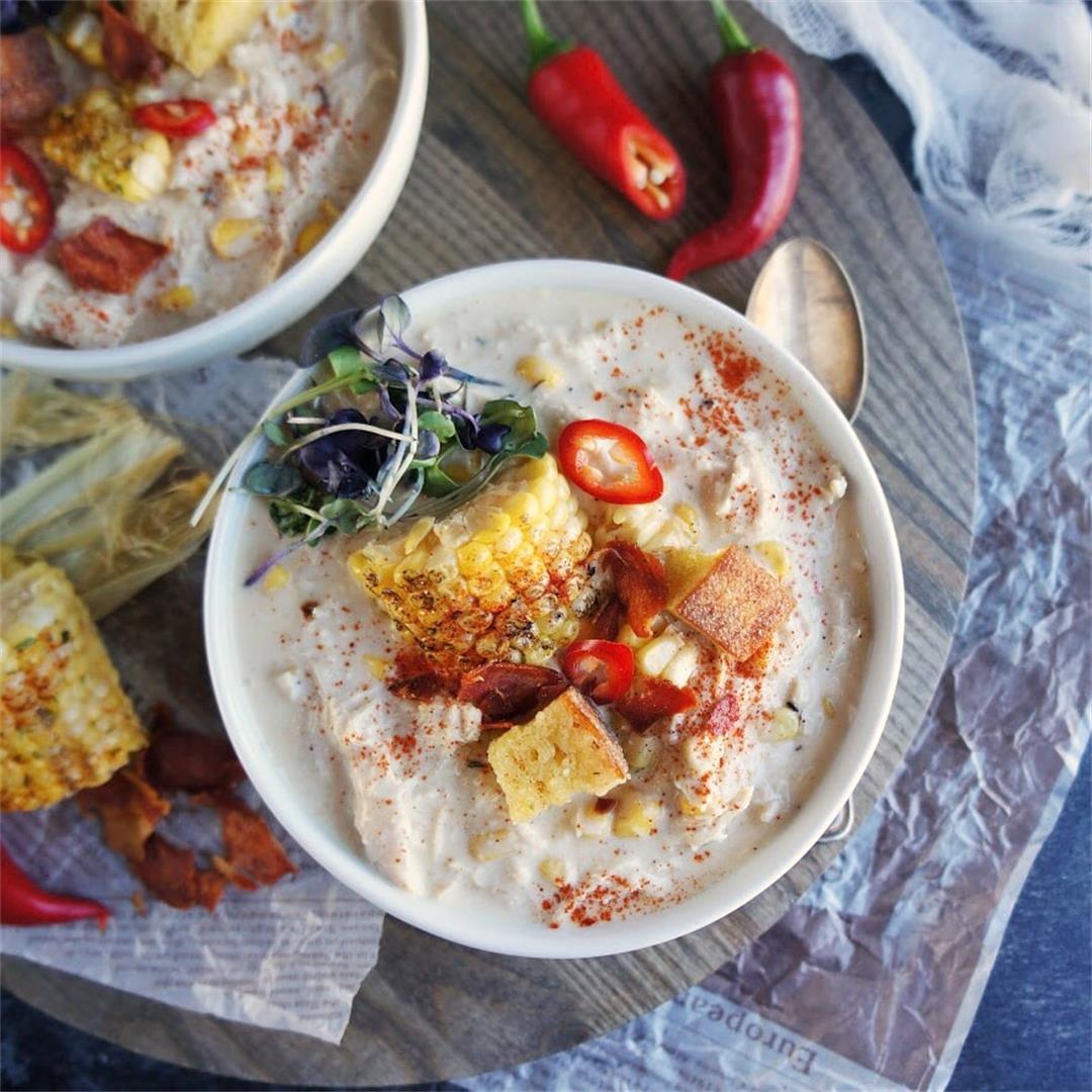 Spicy Chicken Corn Chowder