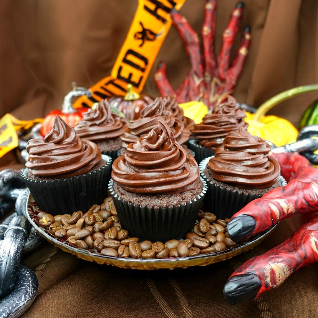 Chocolate Mocha Paleo Cupcakes