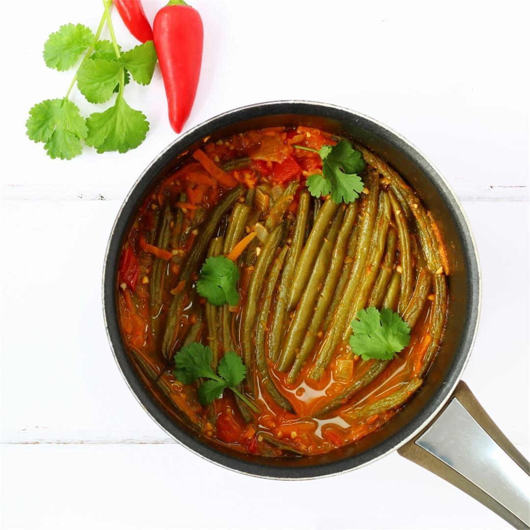 Fasolakia: Greek Green Bean Stew