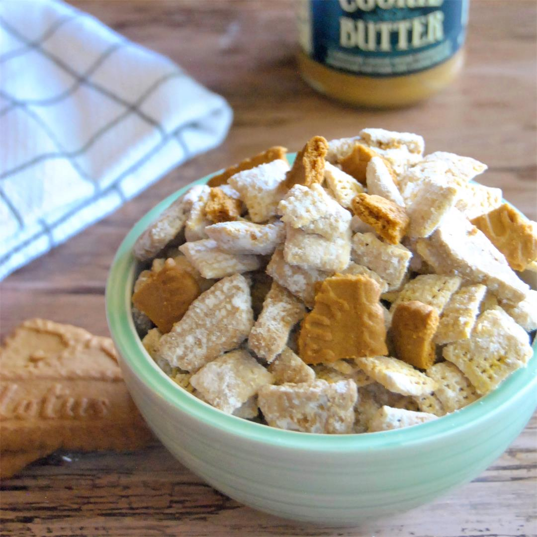 Cookie Butter Puppy Chow