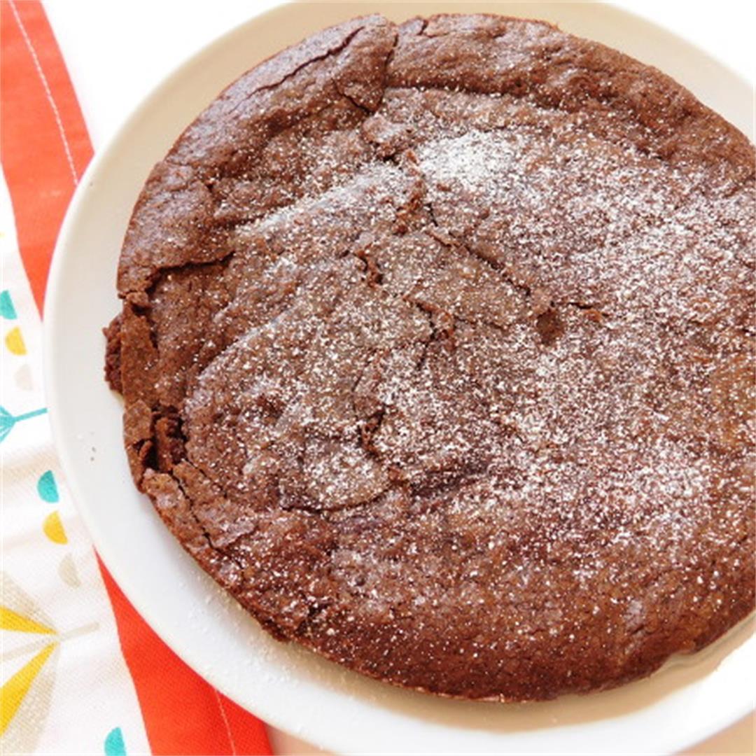 Swedish Sticky Chocolate Cake