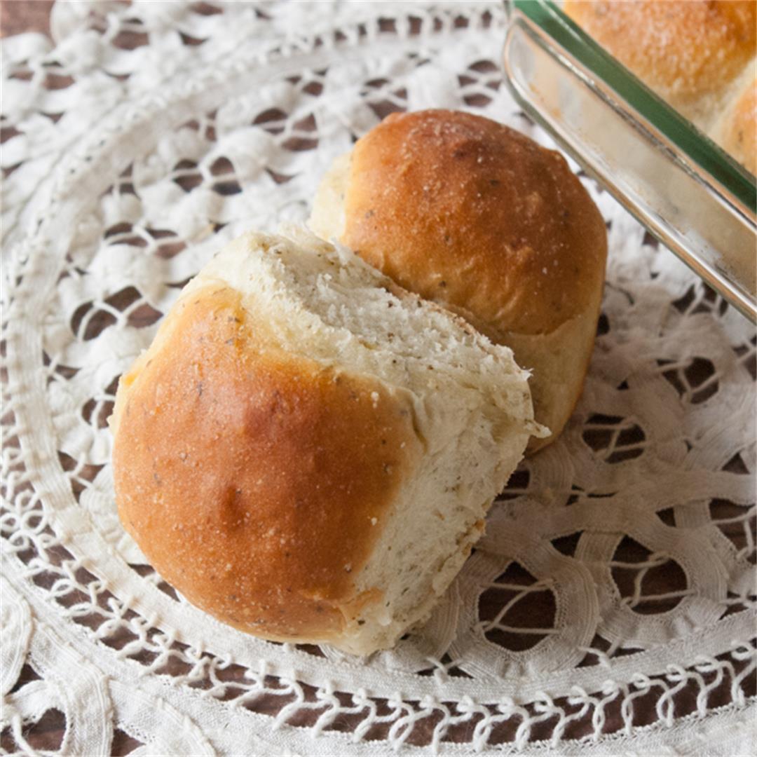 Garlic Butter Herb Rolls