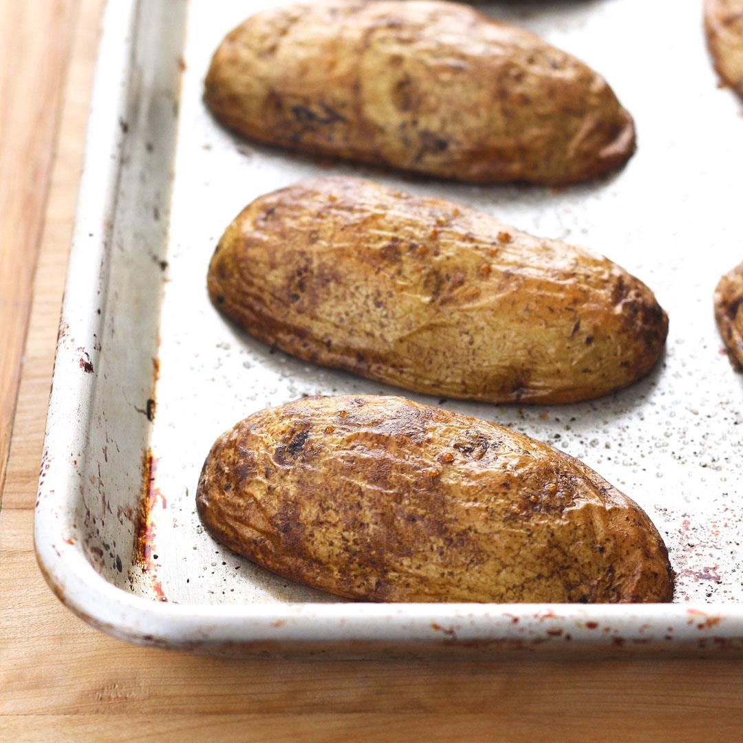 Quick Baked Potatoes (Without the Microwave!)