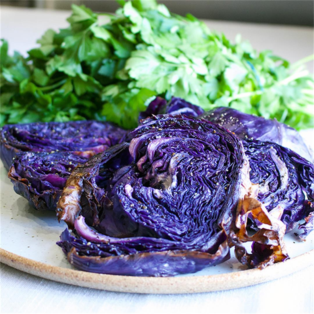 Simple Roasted Cabbage
