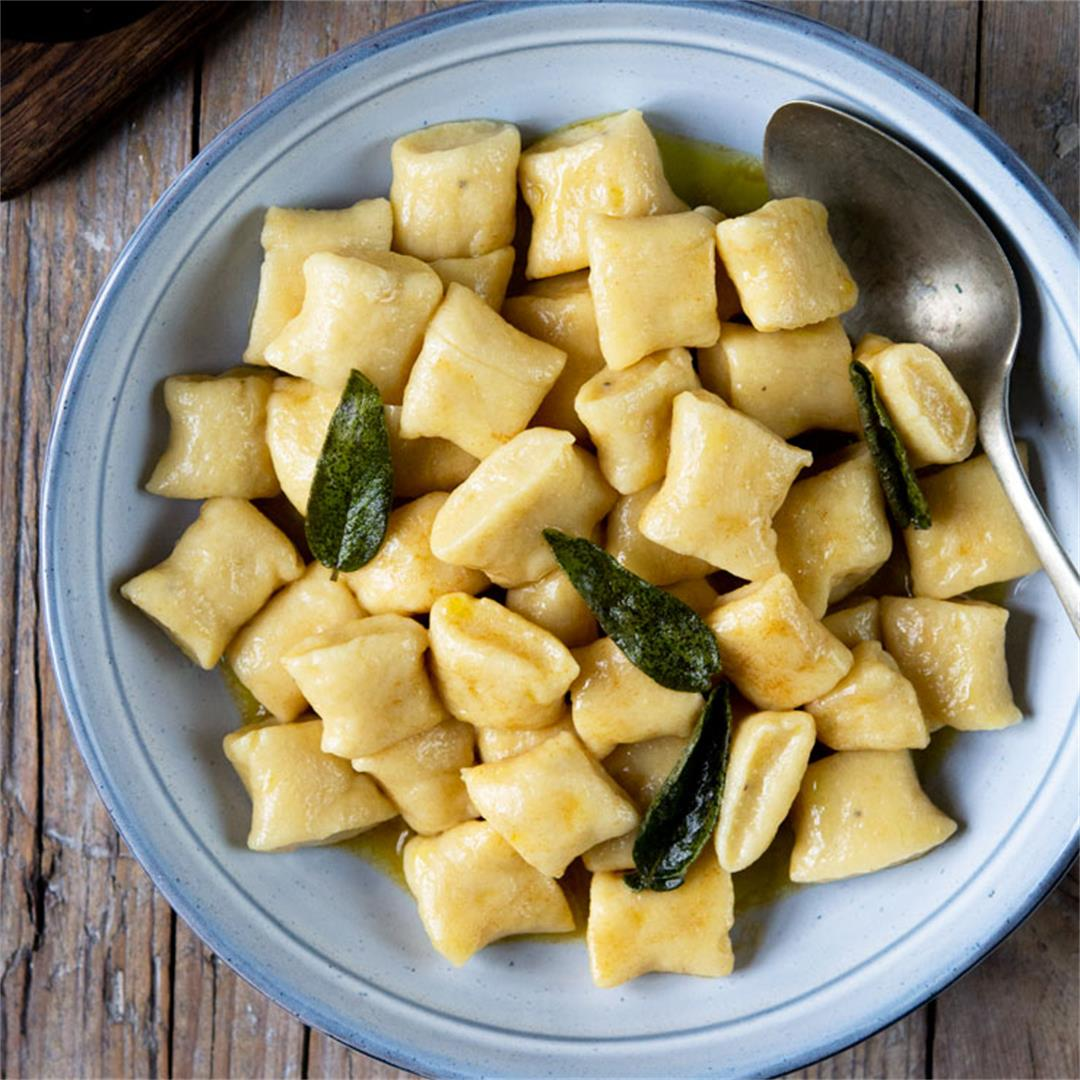 Gnocchi with Brown Butter Sage Sauce