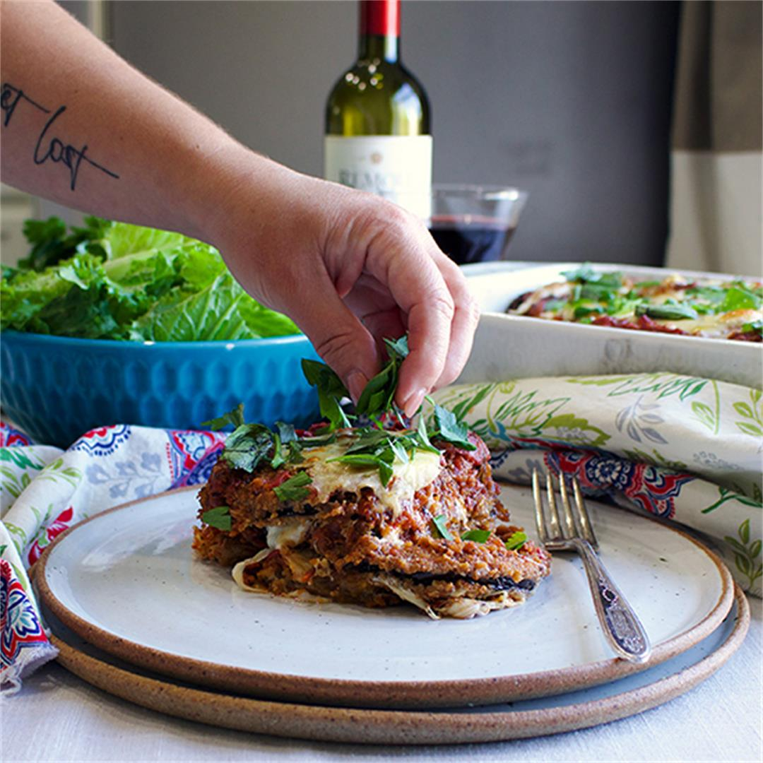 How to Make Eggplant or Chicken Parmesan