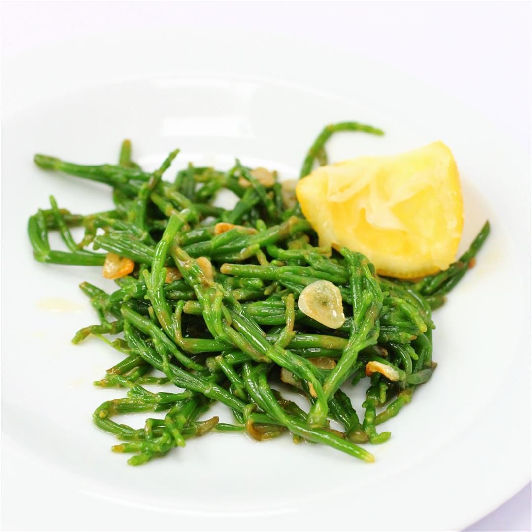 Garlic and Lemon Samphire