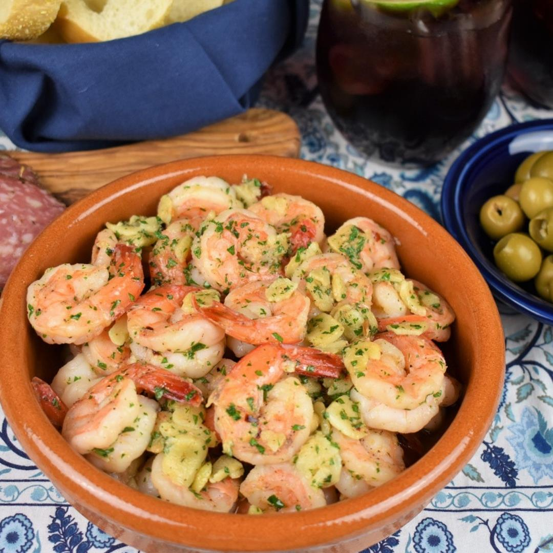 Camarones al Ajillo - Garlic Shrimp