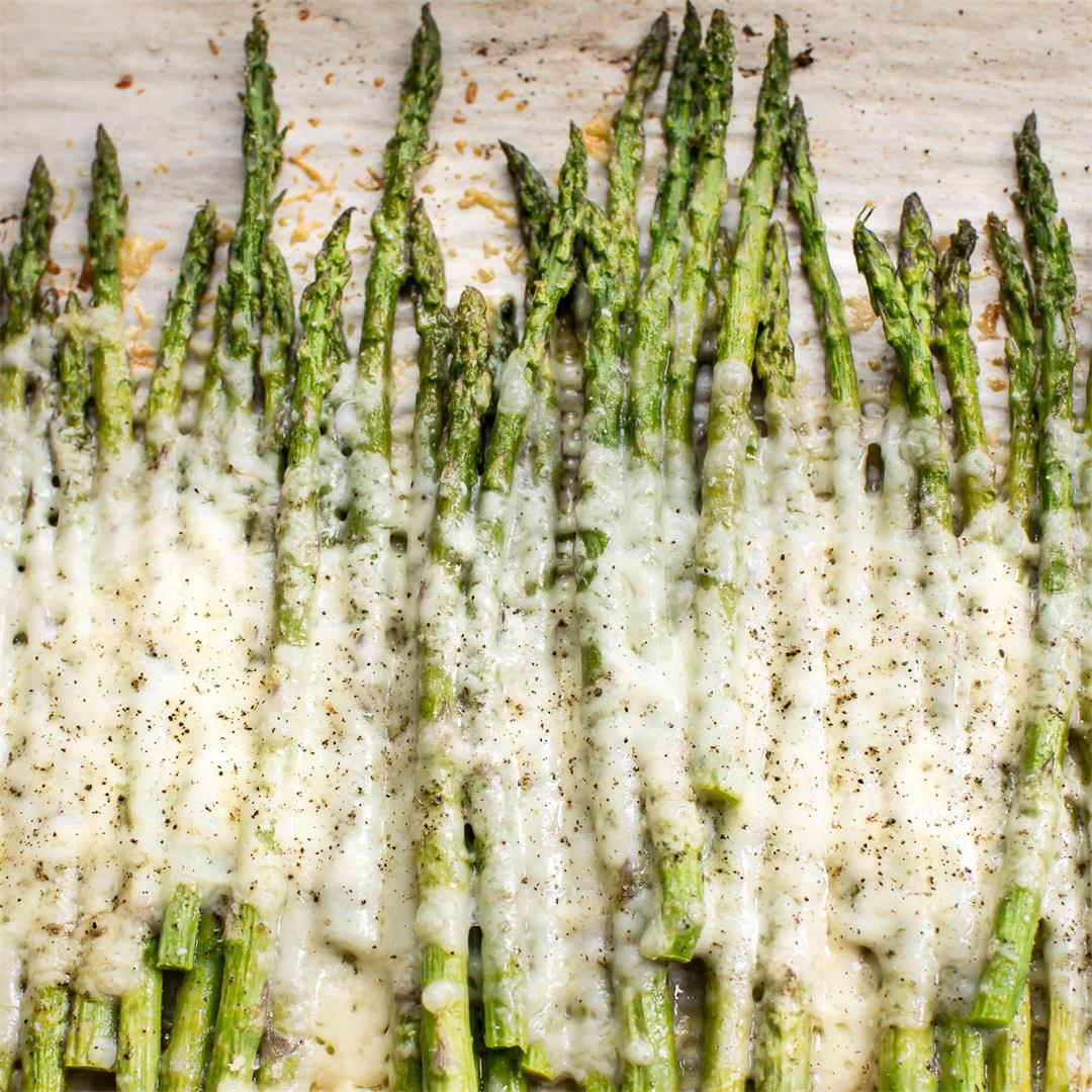 Easy Cheesy Asparagus